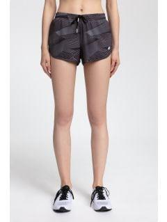 Pantaloni scurți de antrenament pentru femei SKDF200 - multicolor allover