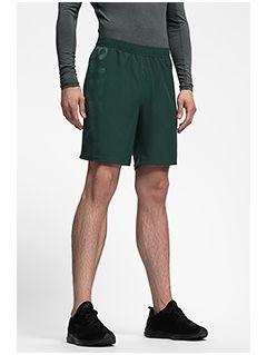 Pantaloni scurți de antrenament pentru bărbați SKMF252 - verde închis