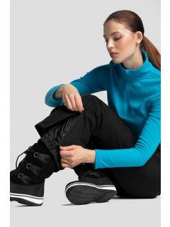 Pantaloni de schi pentru femei SPDN270 - negru profund