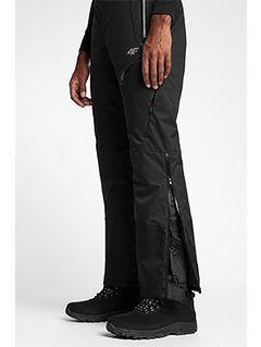 Pantaloni de schi pentru bărbați SPMN151 - negru profund