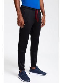 Pantaloni de antrenament pentru bărbați SPMTR200 - negru profund