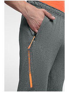 Pantaloni de antrenament pentru bărbați SPMTR201 - gri mediu melanj