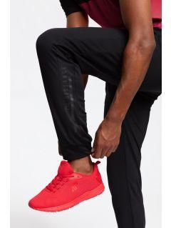Pantaloni de antrenament pentru bărbați SPMTR202 - negru profund