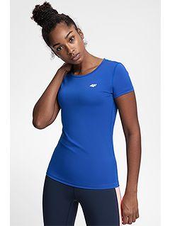 Tricou de antrenament pentru femei TSDF206 - cobalt