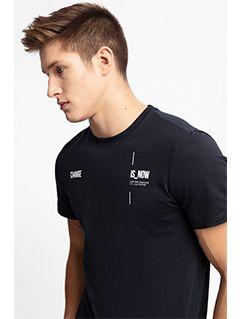 Tricou pentru bărbați TSM209 - bleumarin