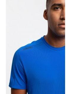 Tricou de antrenament pentru bărbați TSMF206 - cobalt