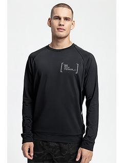 Tricou cu mânecă lungă pentru bărbați TSML263 - gri închis