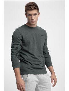 Tricou cu mânecă lungă pentru bărbați TSML300 - gri închis
