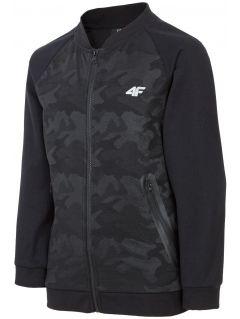 Bluza pentru copii mari (băieți) JBLM400 - negru