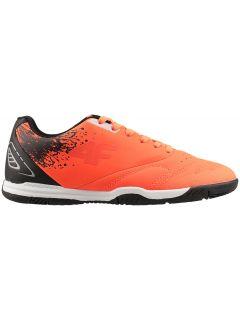 Ghete fotbal pentru copii mari (băieți) JOBMP400H -  portocaliu neon
