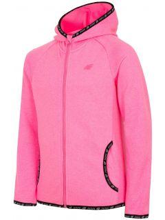 Bluza din fleece pentru copii mici (fete) JPLD300 - fuxie