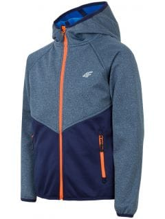 Jacheta softshell pentru copii mari (băieți) JSFM402 - bleumarin