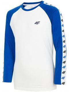 Tricou cu mânecă lungă pentru copii mari (băieți) JTSML218 - cobalt