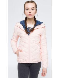 Jacheta din puf pentru femei KUD005 - roz