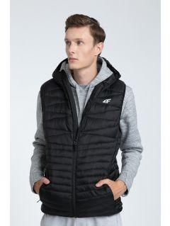 Jacheta din puf pentru bărbaţi KUM001 - negru