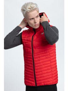 Jacheta din puf pentru bărbaţi KUM001 - roșu