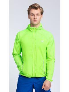 Jacheta de antrenament pentru bărbaţi KUMTR001 - verde neon