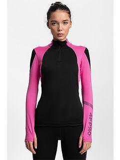 Bluză funcțională pentru femei 4FPro Skirunning BLDF400 - negru