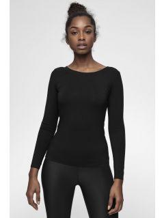 Tricou cu mânecă lungă pentru femei 4FPro TSDL400 - negru