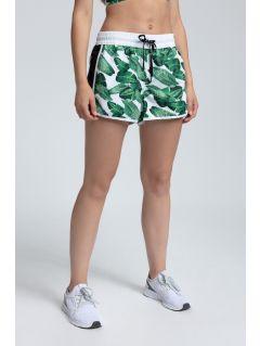 Pantaloni scurţi de plajă pentru femei SKDT200 - multicolor 1