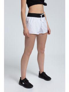 Pantaloni scurţi de plajă pentru femei SKDT203 - alb