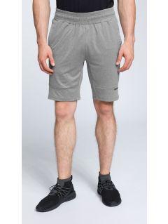 Pantaloni scurţi de antrenament pentru bărbaţi SKMF007 - gri