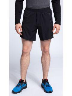 Pantaloni scurţi de antrenament pentru bărbaţi SKMF009 -negru