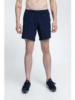 Pantaloni scurţi de antrenament pentru bărbaţi SKMF009 -bleumarin