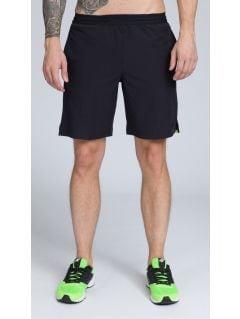 Pantaloni de antrenament pentru bărbaţi SKMF255 - limetă verde