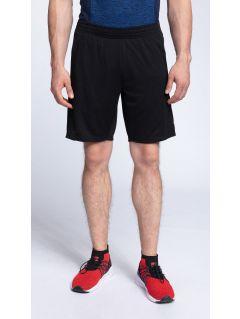 Pantaloni scurti de antrenament pentru bărbaţi SKMF261 - negru