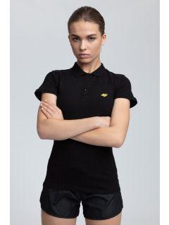 Tricou polo pentru femei TSD017 - negru