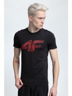 Tricou de antrenament pentru bărbaţi TSMF259 - negru