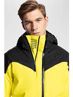 Jachetă de schi pentru bărbați KUMN152A - galben