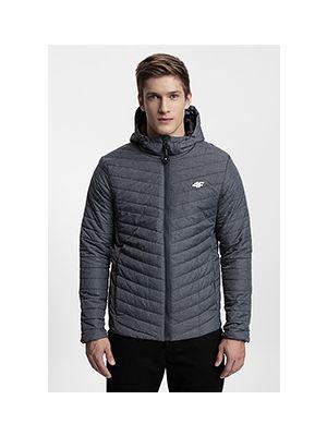 Jacheta din puf pentru bărbați KUMP301 - antracit