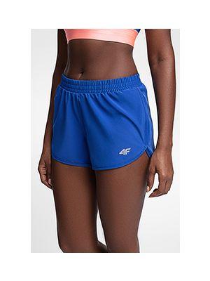 Pantaloni scurți de antrenament pentru femei SKDF150 - cobalt