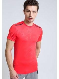 Tricou de antrenament pentru bărbaţi TSMF208 - rosu