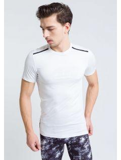 Tricou de antrenament pentru bărbaţi TSMF208 - alb