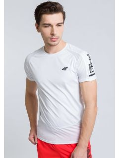 Tricou de antrenament pentru bărbaţi TSMF215 - alb