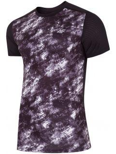 Tricou de antrenament pentru bărbaţi TSMF223 - negru