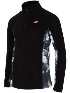 Lenjerie din fleece pentru bărbați BIMP250 - negru