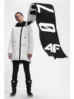 Jachetă din puf pentru femei KUDP216 - alb