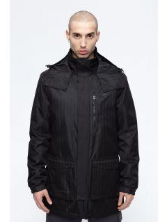 Jacheta de oraș pentru bărbați KUM203 - negru profund