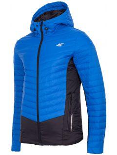 Jachetă din puf pentru bărbați KUMP202 - albastru
