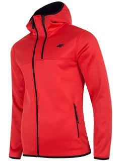 Bluză din fleece pentru bărbați PLM251 - roșu