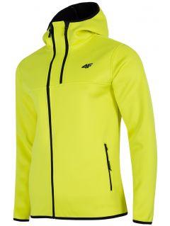 Bluză din fleece pentru bărbați PLM251 - galben