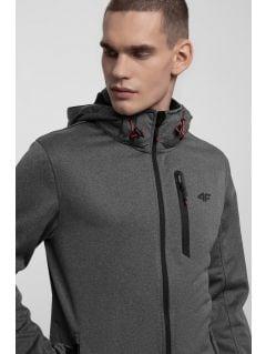 Jacheta softshell pentru bărbați SFM202 - antracit melanj