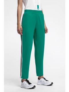 Pantaloni de molton pentru femei SPDD224 - verde