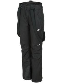 Pantaloni de schi pentru femei SPDN300 - negru profund