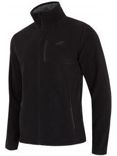 Bluza din fleece pentru barbați PLM001 - negru profund