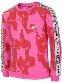 Bluză pentru copii mari (fete) JBLD215 - fuxie